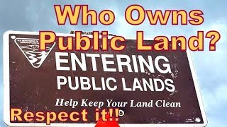 Who Owns Public Land? It