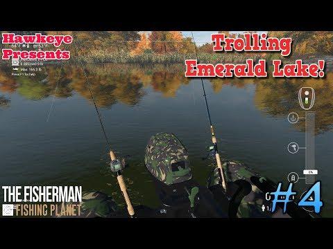 The Fisherman - Fishing Planet: Trolling Emerald Lake!