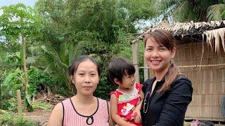 Trao Nhà Tình Thương Cho Mẹ Đơn Thân _ Nụ Cười Hạnh Phúc  || Hồ Thùy Dương Vlog