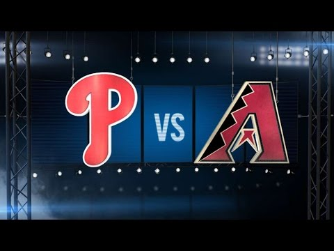 6/29/16: Phils Top D-backs In Extras, Complete Sweep