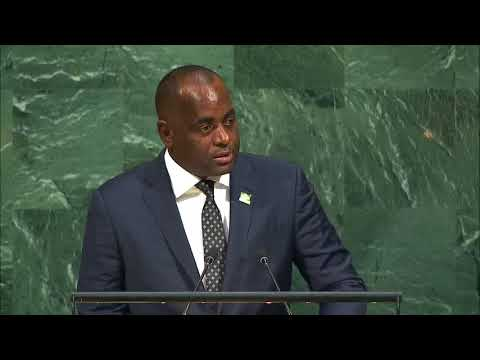 PM ROOSEVELT SKERRIT OF DOMINICA SPEECH TO THE GENERAL ASSEMBLY AT THE UNITED NATIONS 2017