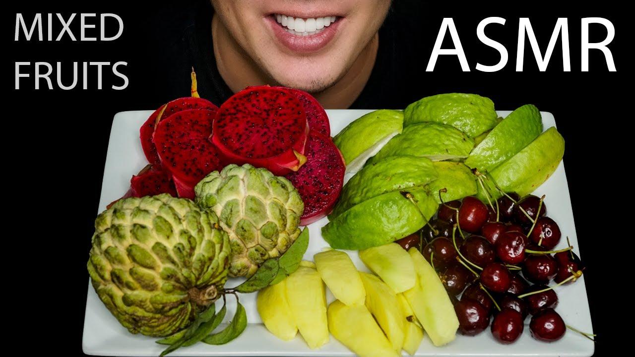 ASMR FRUITS I EATING SOUNDS I NO TALKING I ASMR MUKBANG I Cuộc sống ở Mỹ I Vườn Trái Cây Florida