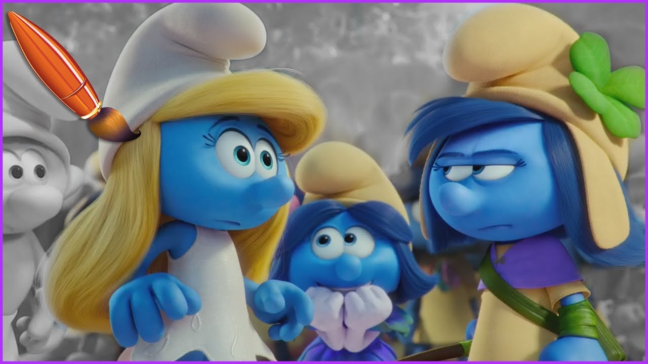 smurfstorm from smurfs the lost 101 dalamtians coloring pages the