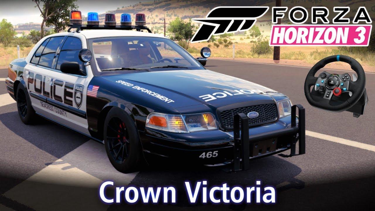 Ford Crown Victoria - De Normal a ANIMAL! | Forza Horizon 3 + G29 [PT-BR]