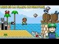 Luigi en la Playa de Piratas !! - Mario is Missing Done Right (Hack SMW) con Pepe el Mago (#3)