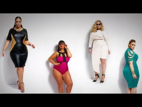 e8df0ff8c Plus-size clothing gets a fashionable makeover - YouTube