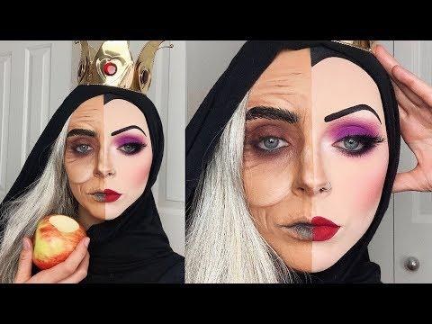 Snow White Evil Queen Halloween Makeup! thumbnail