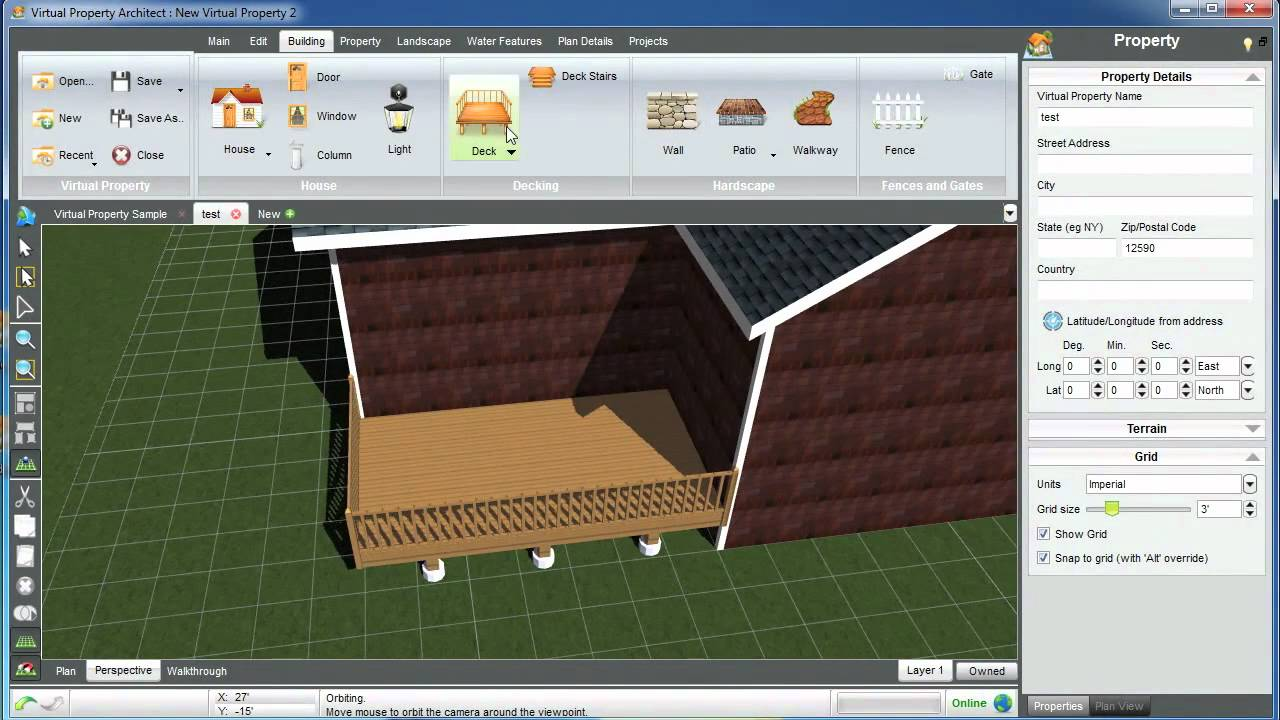 Virtual Property Architect Getting Started Tutorial