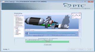Hướng dẫn cài đặt phần mềm pro engineer 5 0 win7-32bit