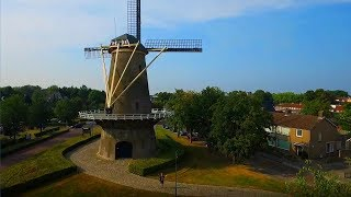 "WINDMILL Drone Flight - ""Bisschopsmolen"" Etten-Leur The Netherlands"