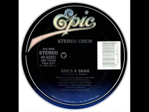 "Stereo Crew - ""She's A Skag"" (Epic Records 1986)"