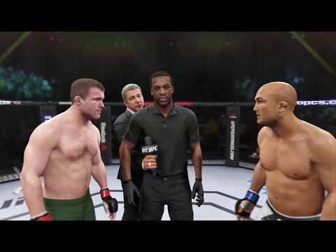 Matt Hughes vs. BJ Penn (EA Sports UFC 2) - CPU vs. CPU