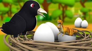 Koyal ka Anda 3D Animated Hindi Stories for Kids | Moral Stories कोयल का अंडा हिन्दी कहानी Tales