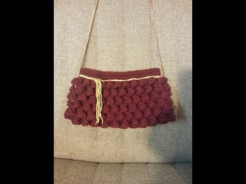 CROCHET How to #crochet this Stylish Clutch purse tutorial #9 LEARN ...