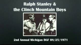 【CGUBA141】Ralph Stanley & The Clinch Mountain Boys 08/25/1971