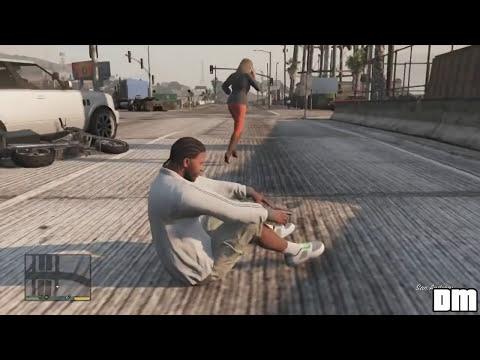 GTA V Unbelievable CrashesFalls - Episode 03