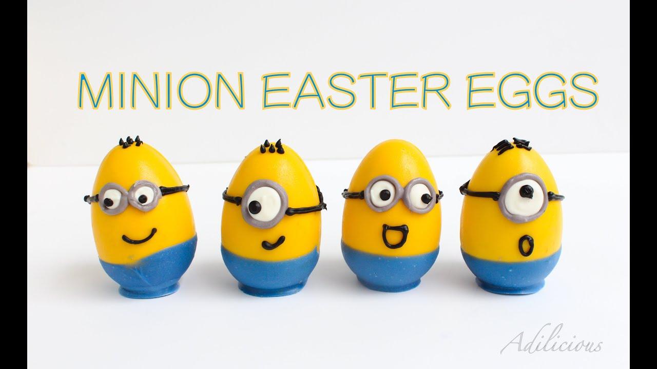 minion easter egg surprise inside easter egg youtube