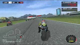 Moto GP 2 : Gameplay - 01 (Part 1/2)