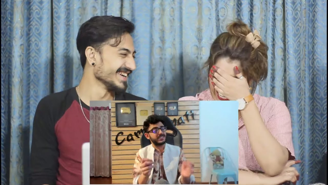 Pak Reaction To | THE ART OF BAD WORDS | Carryminati