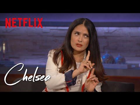 Salma Hayek Full   Chelsea  Netflix