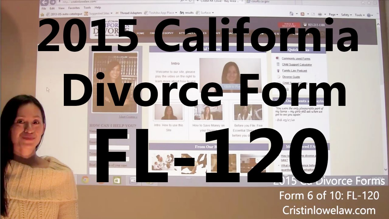 how to get a divorce in california