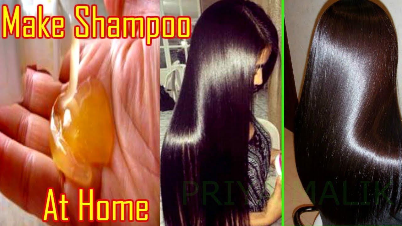 make natural shampoo
