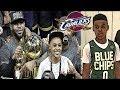 What if Lebron James and Lebron James Jr played for the same NBA Team?