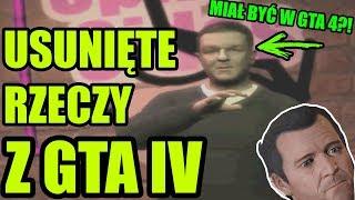 MICHAEL Z GTA 5 W GTA 4?! USUNIĘTE RZECZY Z GTA IV #1   Easter Eggs