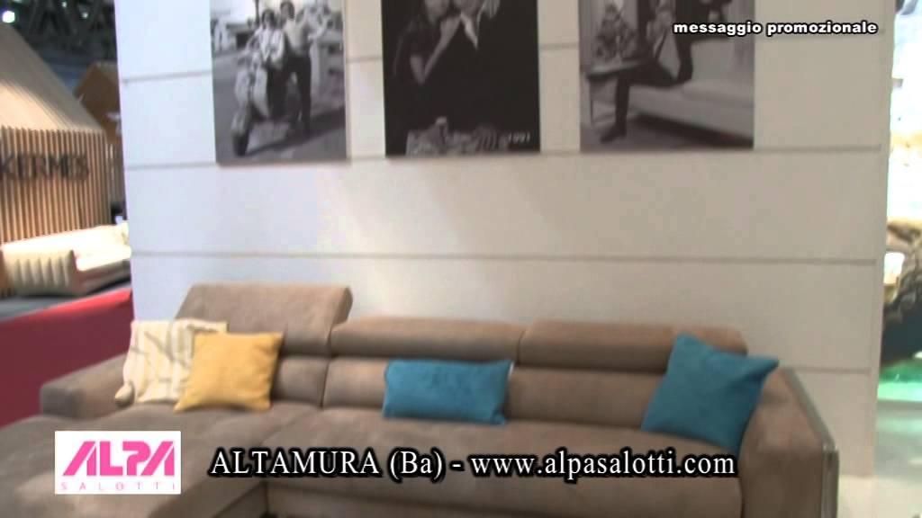 Salotti Web Altamura.Intervista Fiera Del Mobile 2014 Alpa Salotti
