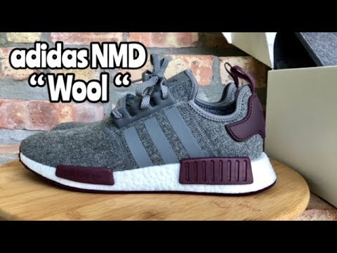 "0dd0abe13a407 adidas NMD ""Wool Burgundy"" review from  ChampsSports - YouTube"
