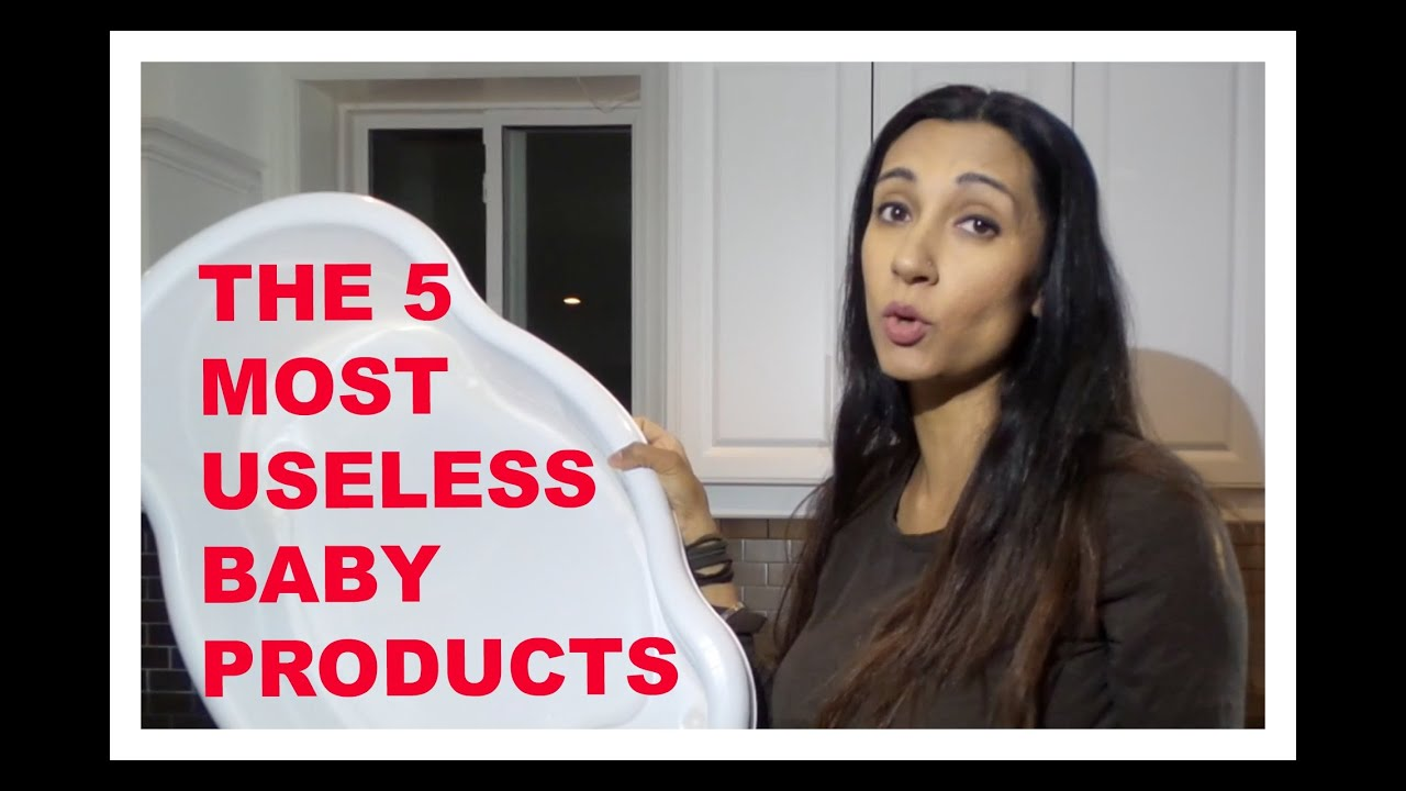 Rating of the most useless things for a newborn baby