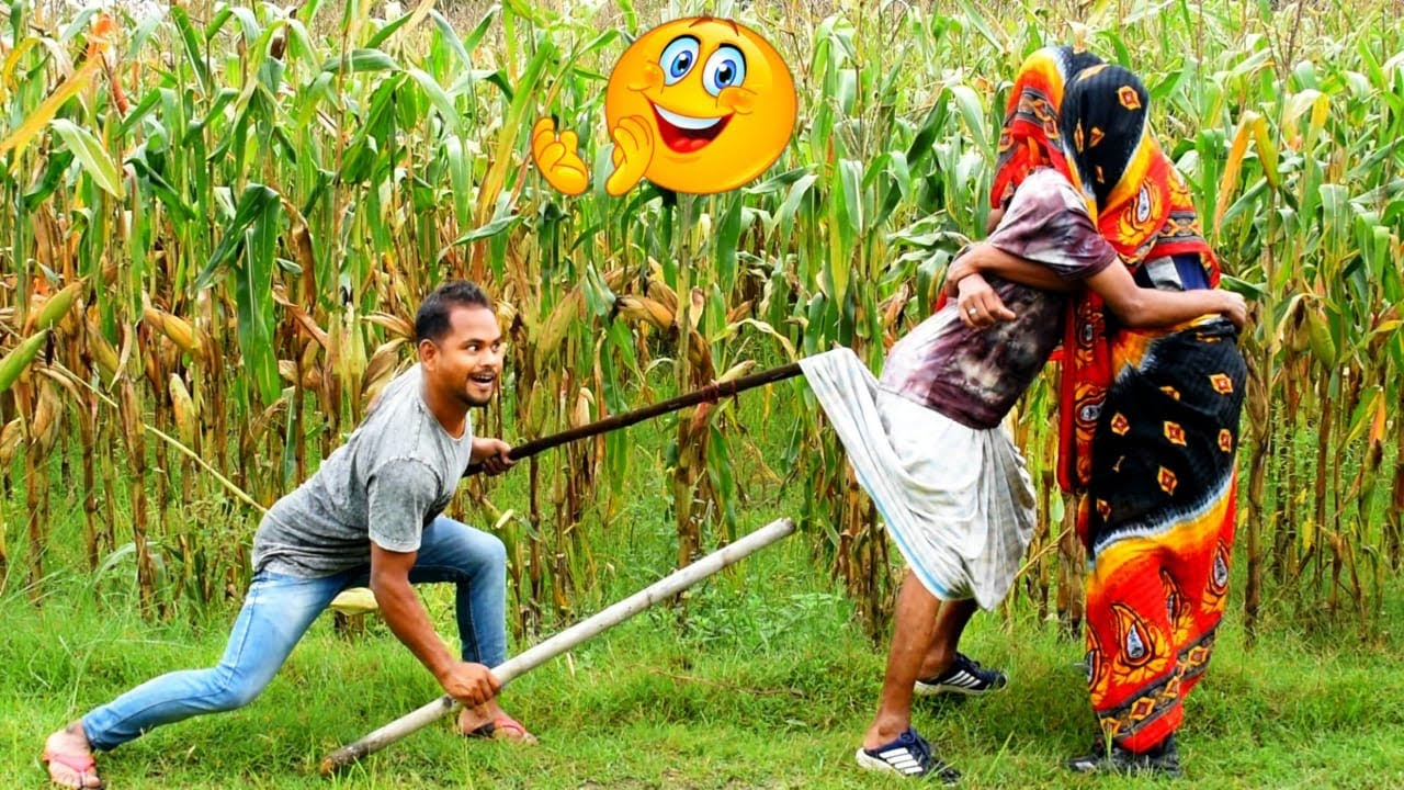 Download Must watch Comedy Video 😂😂 2020 funny video 2020 try to not lough By    Bindas fun bd  