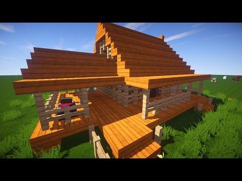 Minecraft как сделать красивый дом, примеры красивых домов