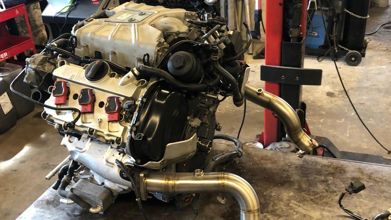 Audi A7 3.0tfsi engine rebuild - part 4 - Engine assembly