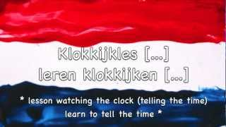 What time is it? How to tell the time in Dutch / Hoe laat is het? Klokkijken Nederlands