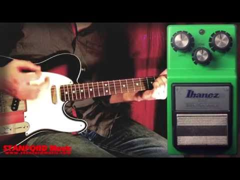 Ibanez Tube Screamer TS9 Reissue Overdrive Pedal Demo