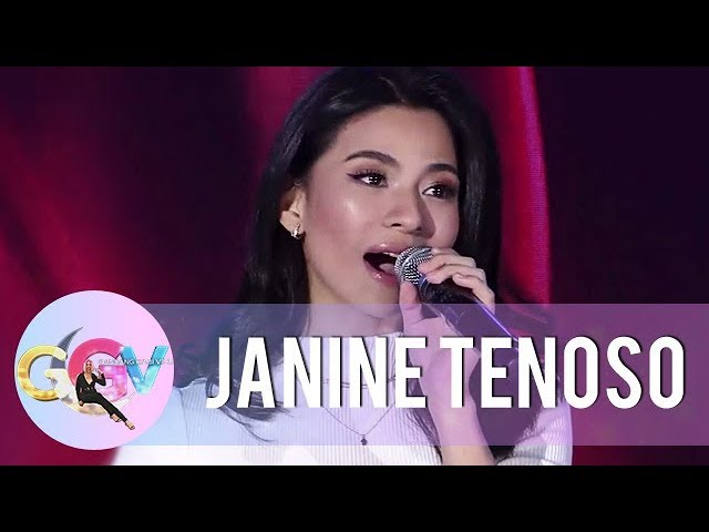 GGV: Janine Teñoso's all-out performance of 'Di Na Muli