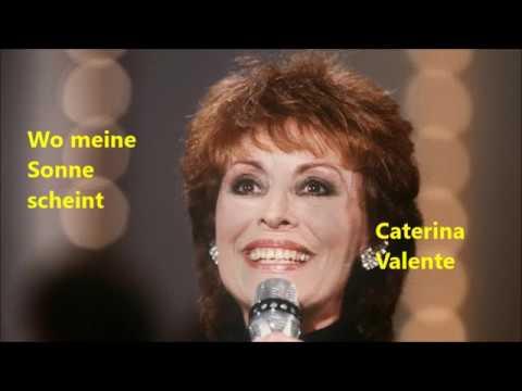 Wo Meine Sonne Scheint Caterina Valente - Karaoke