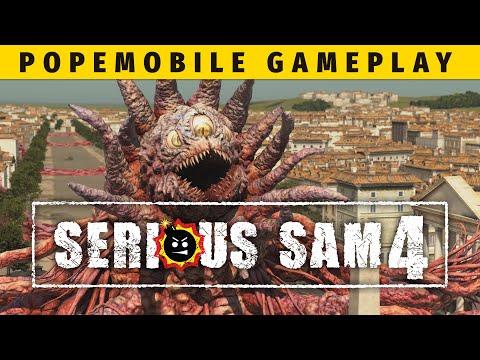 Serious Sam 4 - Popemobile Gameplay