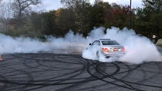 Bmw M5, C63 Amg And Sts V donuts