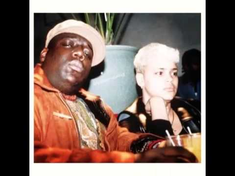 Faith Evans and The Notorious B.I.G. vintage pics to together