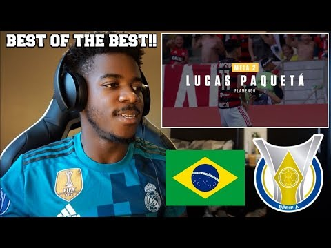 THE BRAZILIAN LEAGUES TEAM OF THE SEASON 2018  Reaction