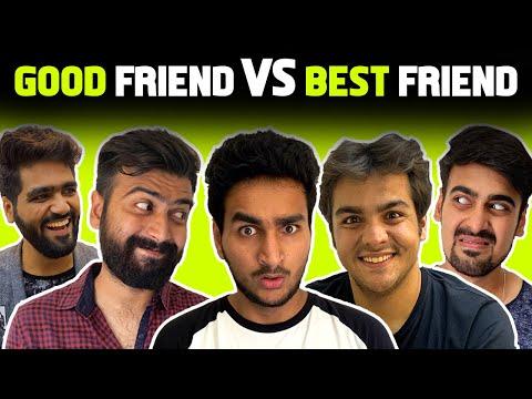 GOOD FRIENDS VS BEST FRIENDS Ft. Ashish Chanchlani, Akash Dodeja, Kunal Chhabhria | Anmol Sachar