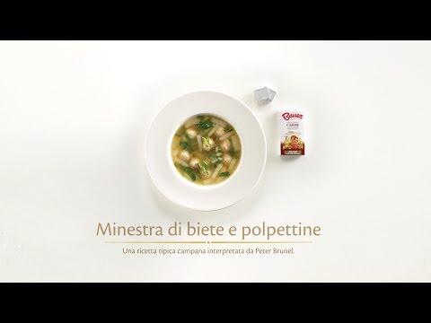 Ricetta - Minestra di biete e polpettine - BAUER