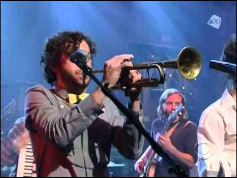 Edward Sharpe And The Magnetic ZerosHome Live Letterman 2009