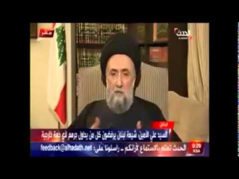 العلاّمة السيد علي الأمين :  كلنا شيعة للبنان الوطن
