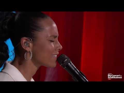 Alicia Keys - Good Job Live #BigConcertSmallBiz After Concert Super Bowl LV 2021