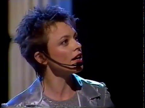 Laurie Anderson on German TV bei Bio 1984