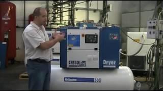 Обзор винтового компрессора Fiac серии CRS