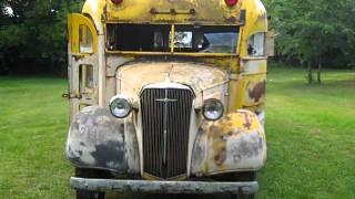 Sweet 1937 Chevrolet School bus Street Rod Project